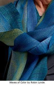 Advancing Twill Scarves in Tencel