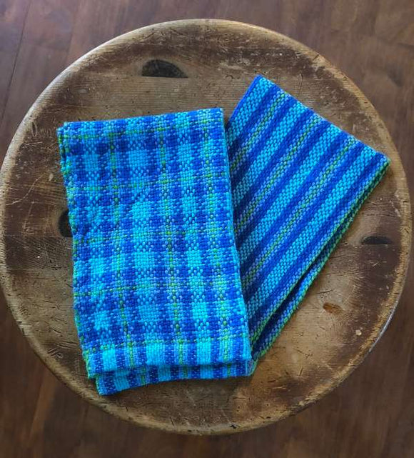 Yarnworker Plaid and Stripe Towels