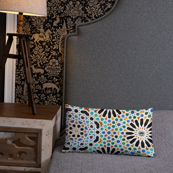 Rectangular basic decorative cushion