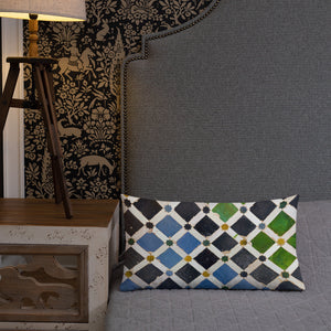 "Rectangular premium decorative cushion ""Granada"""