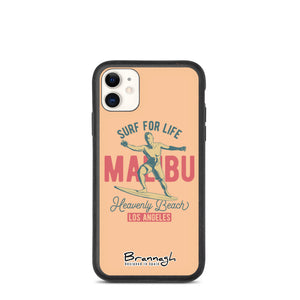 "Biodegradable iPhone Case ""Malibu"""