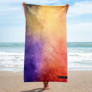 "Beach towel ""watercolour"""