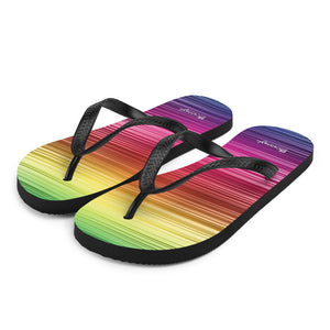 "Beach flip flops ""multicoloured"""