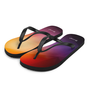 "Beach flip flops ""abstract"""