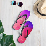 "Beach flip flops ""watercolour"""