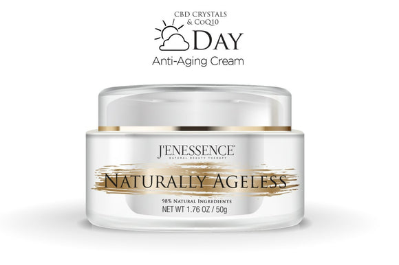 J'enessence Naturally Ageless Day 98% Natural Anti-aging Facial Rejuvenation Cream