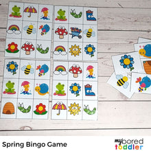 Load image into Gallery viewer, Spring Bingo Cards