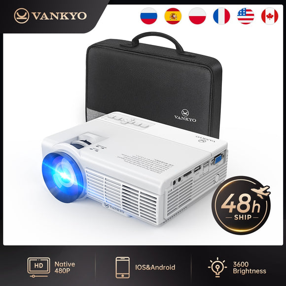 Mini Projector 1920x1080 170'' with 40000 hours LED lamp