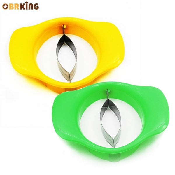 OBRKING Easy Mango Corer Slicer Cutter Pitter Mango Core Pit Remover Watermelon Peeler Fruit Vegetable Tool Kitchen Accessories