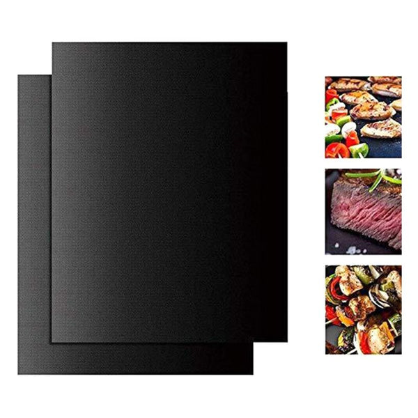 33x40cm Reusable Non-stick BBQ Grill Mat 0.08mm Thick PTFE Barbecue Baking Liners Cook Pad Microwave Oven Tool