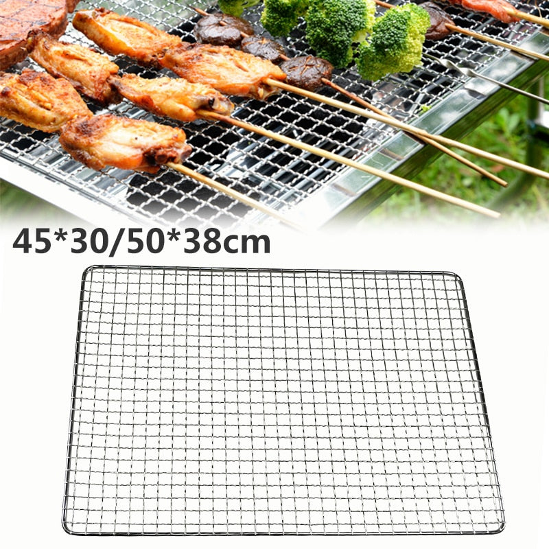 Grilling Basket BBQ Barbecue Tool Accessories for Fish Vegetable Steak Meat Shrimp Barbecue Grill BBQ Net