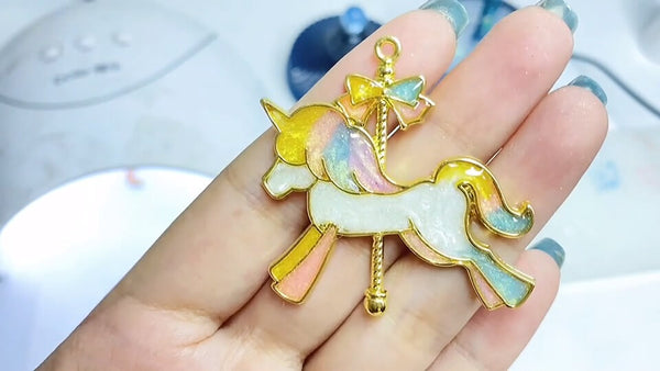 resin horse decorations done