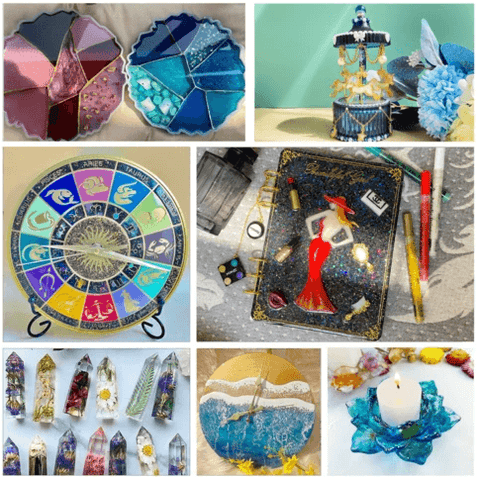 resin projects