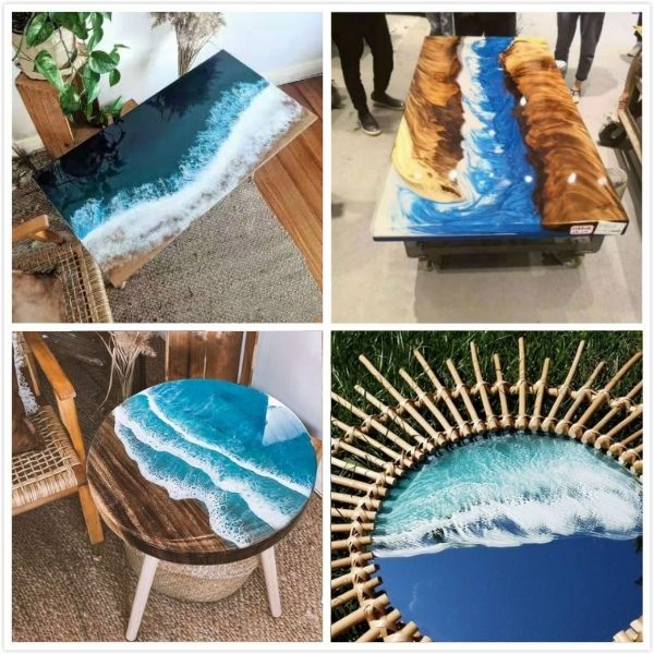 different ocean tables