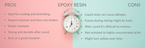 epoxy resin pros and cons