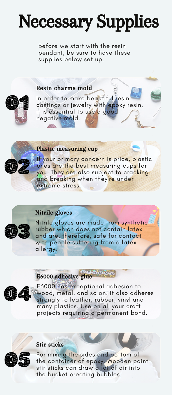 things you'll need