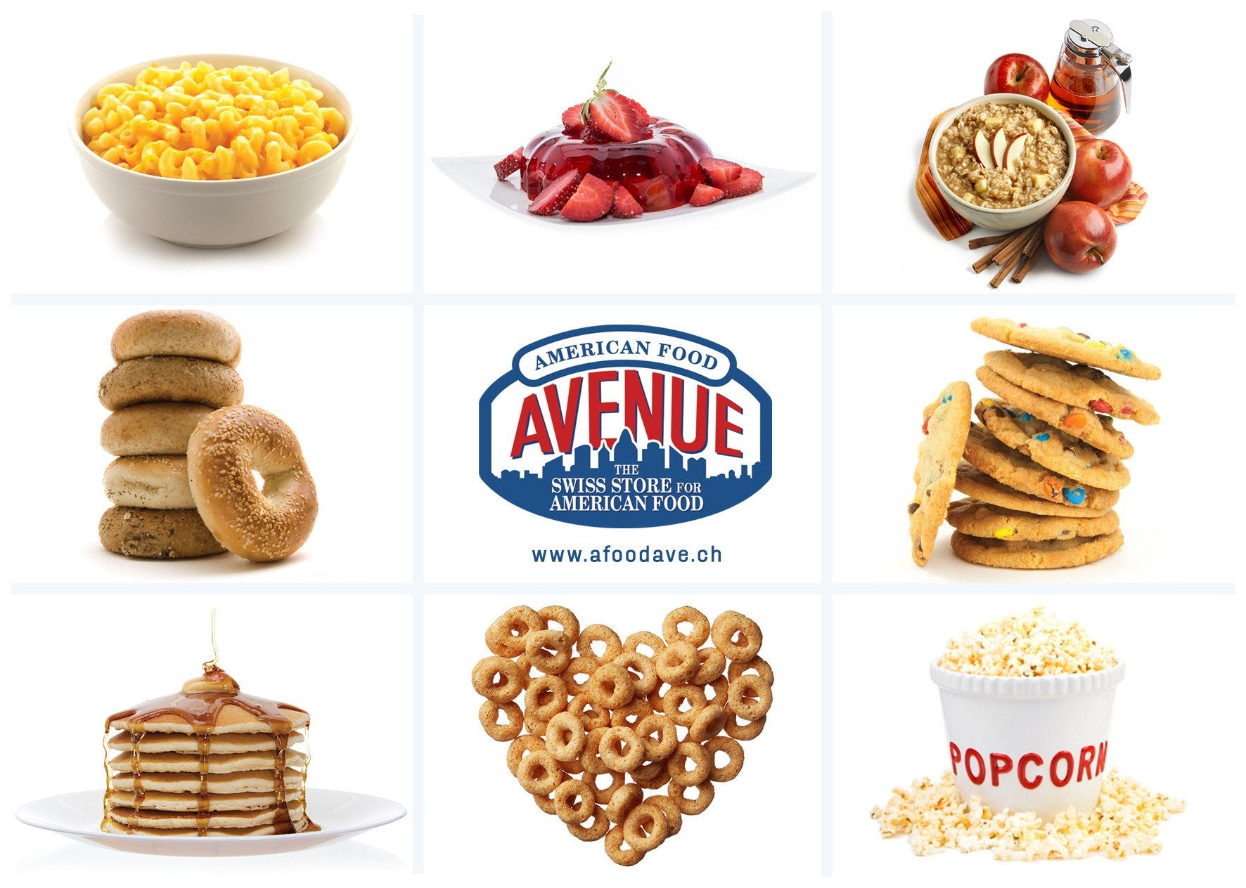 American Food Avenue - The Swiss Store for American Food