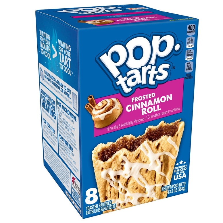 pop tart cinnamon roll 8pcs