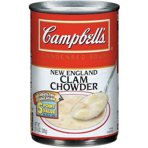 Campbell's New England Clam Chowder