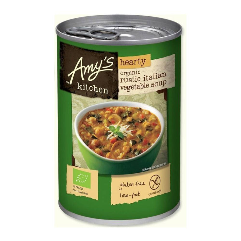 amy's hearty rustic italian soup 400gr