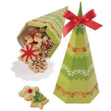 Wilton Christmas Tree Treat Box (4boxes)