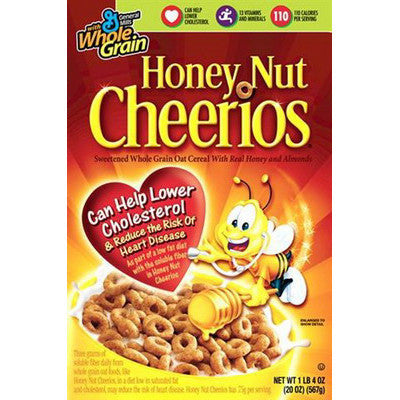 Cheerios Honey Nut 480gr