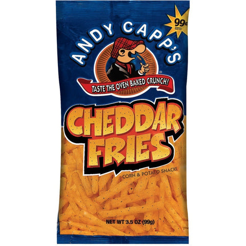 Andy Capp's Cheddar Fries 85gr
