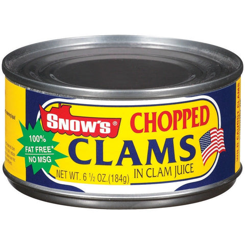 Snow Chopped Clams in Juice