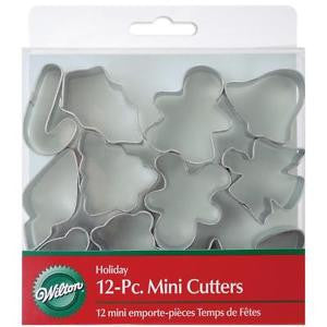 Wilton 12pc mini cutter set