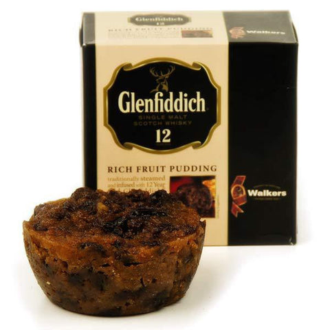 Walker Glenfiddich Rich Fruit Pudding 227gr