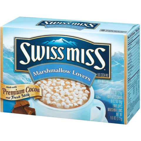 Swiss Miss Marshmallow Lovers 8 env.