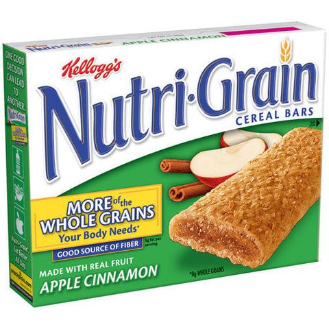 Kellogg's Nutri Grain Apple Cinnamon