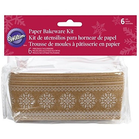 Wilton Paper Bakeware Loaf Kit 6pcs