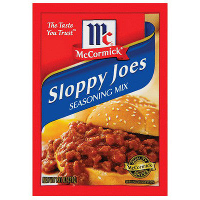 McCormick Sloppy Joe