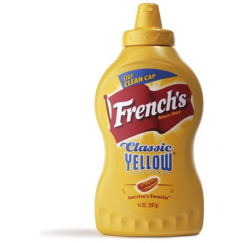 French Classic Yellow Mustard  225gr