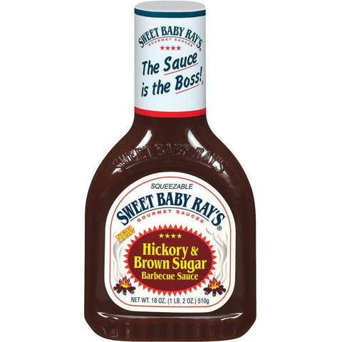 Sweet Baby Ray BBQ Sauce Hickory & Brown Sugar