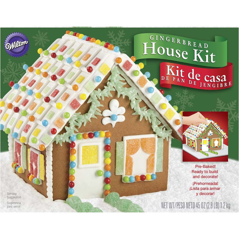 Wilton Cottage Gingerbread House