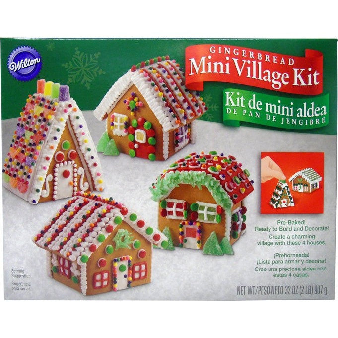 Wilton Mini Village Gingerbread House