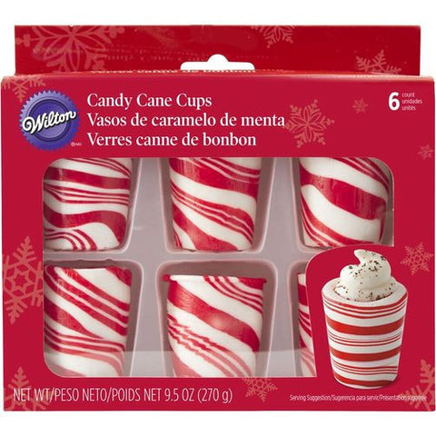 Wilton Candy Cane Cups 270gr