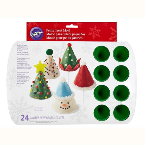 Wilton Mini Cone Mold 24Cav
