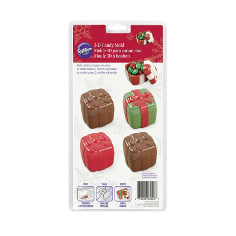 wilton Present candy mold