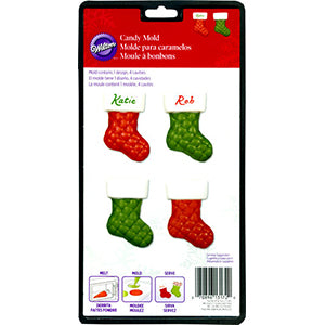 wilton candy sold quilted stocking