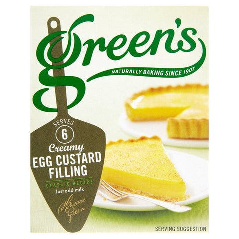 Greens Egg Custard Mix 55gr
