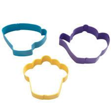 Wilton Tea Party Colored Metal Cutter Set