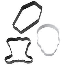 Wilton 3pcs Halloween cookie cutter set