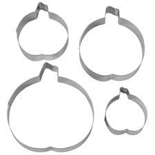 Wilton 4 pcs Pumpkin cookie cutter set