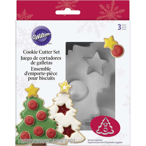 Wilton Christmas Tree Cookie Cutter Set