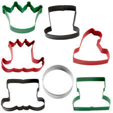 Wilton 7-Pc. Assorted Christmas Character Cookie Cutter Set