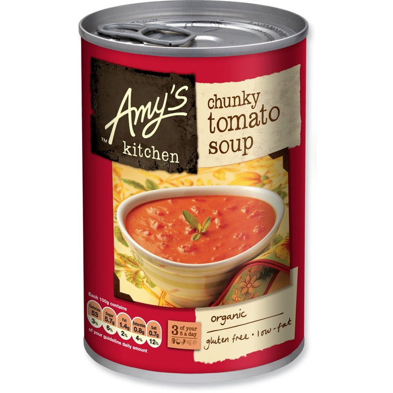 amy's kitchen chunky tomato 400gr