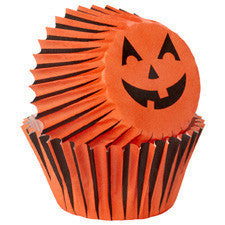 Wilton Jack-O-Lantern Mini Baking Cup (100pcs)